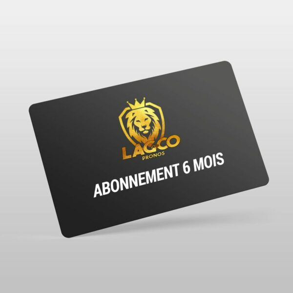 abonnement 6 mois lag and co pronos