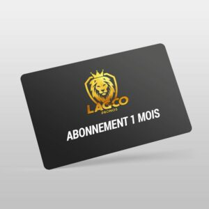 abonnement 1 mois lag and co pronos